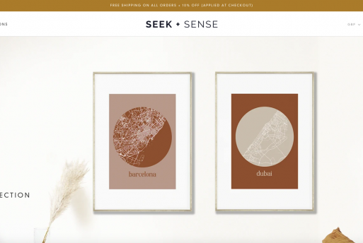 Seek + Sense
